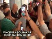 Vincent Aboubakar İstanbul'da