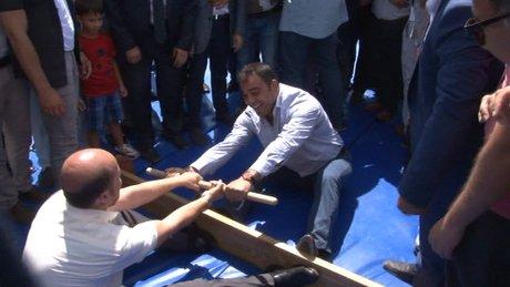 Bilal Erdoğan ve Hamza Yerlikaya'nın güreşi eşitlikle sonuçlandı