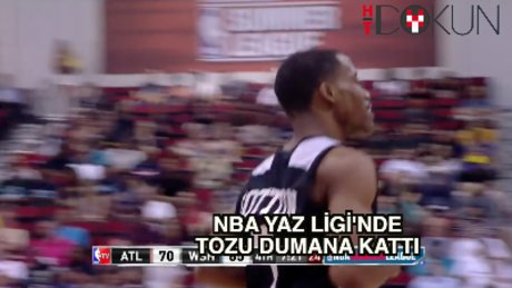 NBA Yaz Ligi'nde Bryce Cotton şov!