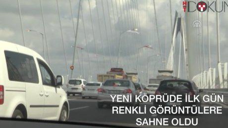 Yavuz'da selfie trafiği