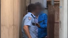 Polis ile kapkaçılar arasında kovalamaca