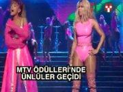 MTV Ödülleri'nde ünlüler geçidi