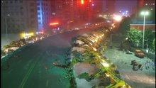 Köprü yıkımı için 100'den fazla ekskavatör çalışma yaptı