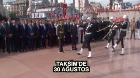 Taksim'de ilklerin 30 Ağustos'u