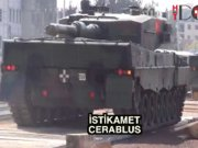 Fırat Kalkanı'nda tanklar Cerablus'a