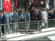 Başbakan Yıldırım: 'Aşkımız Keçiören Metrosu gibi olsun, hep sürsün sloganı...'