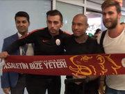 Nigel De Jong Galatasaray için İstanbul'da