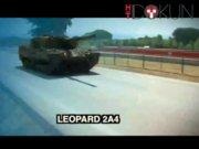 İşte o tank: Leopard 2A4