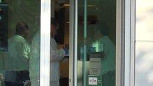 Mesai bitiminde banka soygunu teşebbüsü kilitli kapıya takıldı
