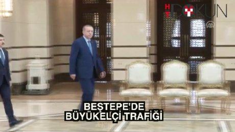 Erdoğan büyükelçileri kabul etti
