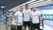 Beşiktaş'ın yeni transferleri sağlık kontrollerinden geçti