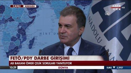 Ömer Çelik: PYD, Esad rejimiyle orada alan kazandı