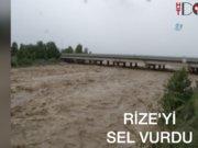 Karadeniz'i sel vurdu, 1 çocuk kayıp