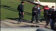 Silahlı şahıs polise zor anlar yaşattı