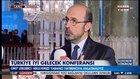 Türkiye İyi Gelecek Konferansı'nda Ümit Leblebici röportajı