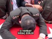 Yarbay Mehmet Alkan ihraç edildi