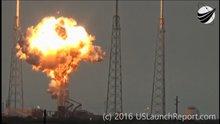 SpaceX roketi fırlatılma testleri sırasında patladı