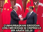 Cumhurbaşkanı Erdoğan Hangzhou'da