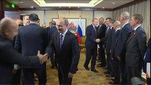 Cumhurbaşkanı Erdoğan ve Rusya Devlet Başkanı Putin'in görüşmesi