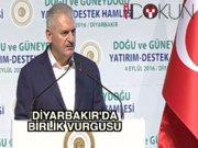 Başbakan Yıldırım Diyarbakır'dan seslendi