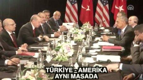 Cumhurbaşkanı Erdoğan Obama ile G20'de görüştü