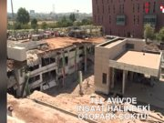 İsrail'de bina yıkıldı: En az 6 kayıp