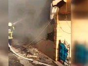 Zonguldak Ereğli'de doğalgaz patlaması