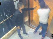 Ataşehir'de lüks rezidanstaki dehşet anı kamerada