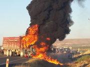 Şanlıurfa Birecik'teki trafik kazasında ölü ve yaralılar var
