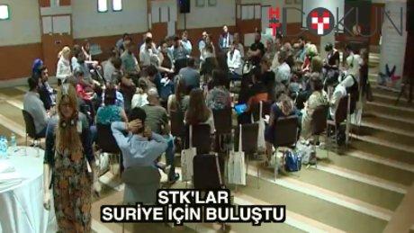 STK'lar Suriye için buluştu
