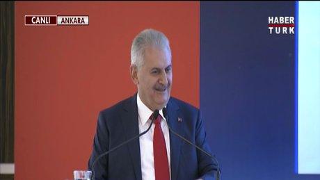 Başbakan Binali Yıldırım'dan 'Parabol' esprisi