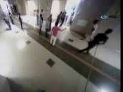 Metrodaki müşteri dehşeti kamerada