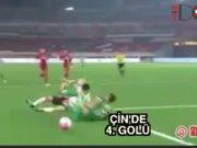 Burak Yılmaz'dan Çin'de 4. gol