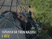 İspanya'da tren kazası: En az 3 ölü