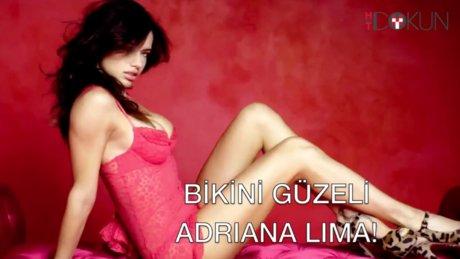 Bikinili güzel Adriana Lima
