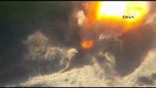 Silopi'de PKK'nın 10 ton bomba yüklü kamyonu imha edildi