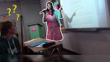 Okulun ilk gününde öğretmenden muhteşem sunum!