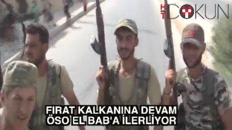 Fırat Kalkanı: ÖSO El-Bab'a ilerliyor