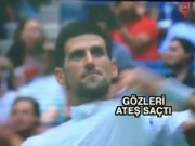 Djokovic sinirden üstünü başını...