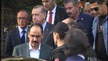 Cumhurbaşkanı Erdoğan, polis merkezini ziyaret etti