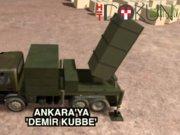 Ankara'ya 'Demir Kubbe'li savunma