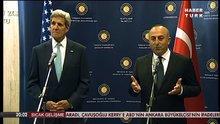 Dışişleri Bakanı Mevlüt Çavuşoğlu ile John Kerry telefonda görüştü