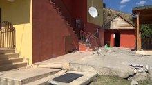 Erzincan'da heyelan sonucu 24 ev kullanılmaz hale geldi
