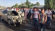Patnos'ta trafik kazası: 8 yaralı