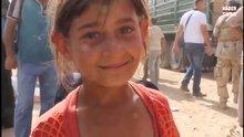 İsmini hatırlamayan küçük mülteci kız