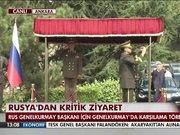 Rusya Genelkurmay Başkanı Türkiye'ye geldi