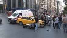 Yunus polisler kaza yaptı, 2 polis hafif yaralandı