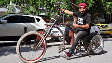 Kişiye özel bisikletler tasarlayıp üretiyor