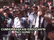 Cumhurbaşkanı Erdoğan cenaze için Erdek'te