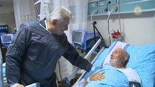 Başbakan hastanede yaşlıları ve çocukları ziyaret etti
